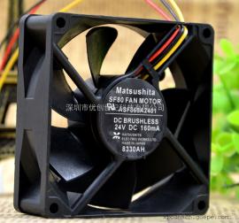 原装安川变频器风扇 ASF865A2401 24V 160MA 80*80*25mm散热风扇