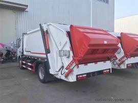 半密封斗式压缩垃圾车报价 半密风斗式压缩垃圾车销售
