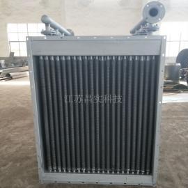 不锈钢导热油换热器 管式翅片散热器 干燥设备专用加热配件