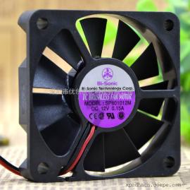 Bi-Sonic SP601012M 6010 12V 0.15A 6CM CPU电源静音散热风扇