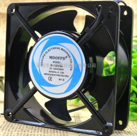 MDOVPD M-12038A 220V 0.12A 12038 轴流风机 机柜箱散热风扇