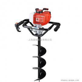 canfly44F 地钻机 二冲程单双人挖坑种植机冰钻地钻 园林挖坑机