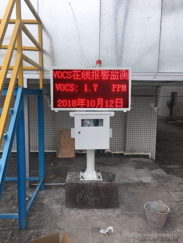 VOC排放浓度实时监测 挥发性有机物废气监测处理工艺