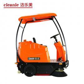 电动驾驶式扫地机 工业驾驶扫地车KM-V3车间道路环卫清扫车使用