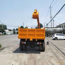 拖拉机改装360度挖掘机 自挖自运车 农用随车挖