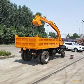 随车挖机多少钱一台 农用随车挖怎么改装 随车挖掘机188