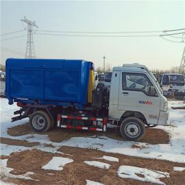 小型蓝牌福田驭菱车厢可卸式垃圾车