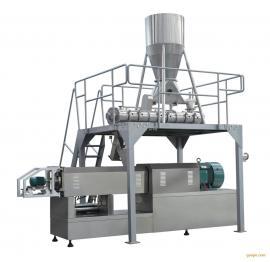 时产4-5T/H双螺杆高配lt132挤压膨化机