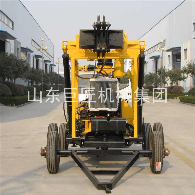 巨匠集团xyx-3轮式液压岩芯钻机方便可靠易操作图片
