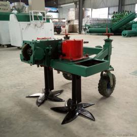 收蒜机器 自走式大蒜收获机报价 挖掘深度可调