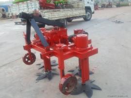 圣泰牌收蒜机器 自走式收大蒜机 挖掘深度可调