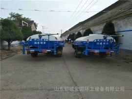 2吨三轮洒水车小型农用洒水车多功能