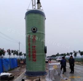 德诺尔一体化污水提升泵站 玻璃钢一体化预制泵站