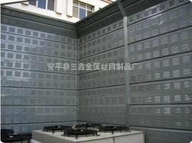 专业楼顶冷却塔降噪声屏障