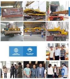 PLC全自动化350吨多晶硅破碎生产线单根硅棒运输车