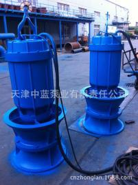 井筒式潜水轴流泵性能