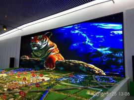 二线城市规划馆内3D小间距p2LED全彩电子屏生产厂家报价