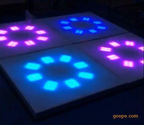 虹美HM-LF02亚克力婚庆酒吧KTV新款跳舞地板砖1*1跳舞地板砖