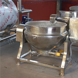 豆浆熬制锅 熬糖搅拌夹层锅 扒鸡卤制夹层锅
