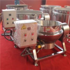 淀粉专用炒锅 可倾式搅拌化糖锅 酱板鸭卤味夹层锅