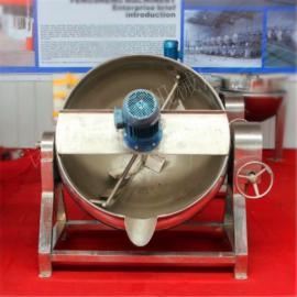 可倾式带搅拌夹层锅, 可倾式蒸汽夹层锅