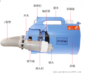 气溶胶喷雾器 电动超低容量喷雾器除甲醛喷雾机室内消毒弥雾机