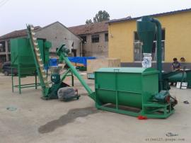 圣泰秸秆颗粒生产线 大型草料饲料机组报价 产地直发