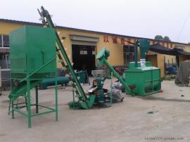 做颗粒的饲料机组图片 多功能饲料机组产地 圣泰制造
