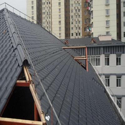 钢结构房子屋顶盖合成树脂瓦需要多少钱一米