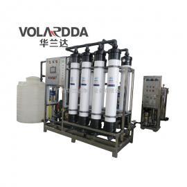 洗涤厂污水净化中水回用后置超滤系统 大流量5-20吨超滤纯水设备