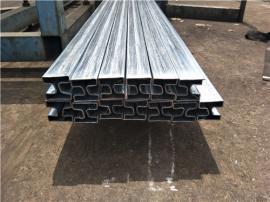 40*40镀锌凹槽管厂,凹槽形钢管生产厂商