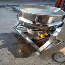 全自动不锈钢夹层锅600L带搅拌的夹层锅盛耀机械生产