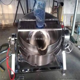 全自动电加热搅拌夹层锅盛耀机械*生产