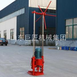 巨匠提供qz-2a 30米野外钻探机轻便岩心钻机 地质勘探钻机取样钻