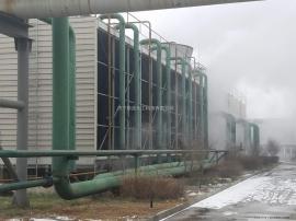 冷却塔不停车化学清洗