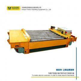 精钢模块搬运谁被 车间重型货物运输工具车 电动轨道平车 帕菲特