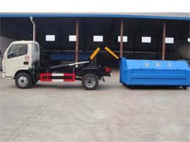 小型的3吨钩臂垃圾车报价、3吨勾臂垃圾车生产厂配置说明