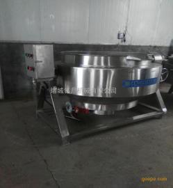 夹层锅生产changjia 食堂蒸煮锅