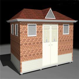 做生态工具房商家 做生态垃圾房制作 做生态垃圾屋设计
