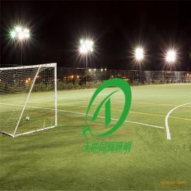 11人制足球场高杆灯|LED足球场投射灯瓦数
