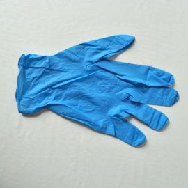 百级净化间蓝色丁腈手套12寸