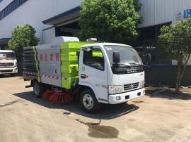 东风小型扫路车/小型路面清扫车/小型路面吸尘车