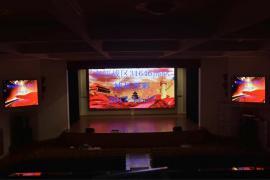 舞台背景P4全彩LED显示屏包安装报价