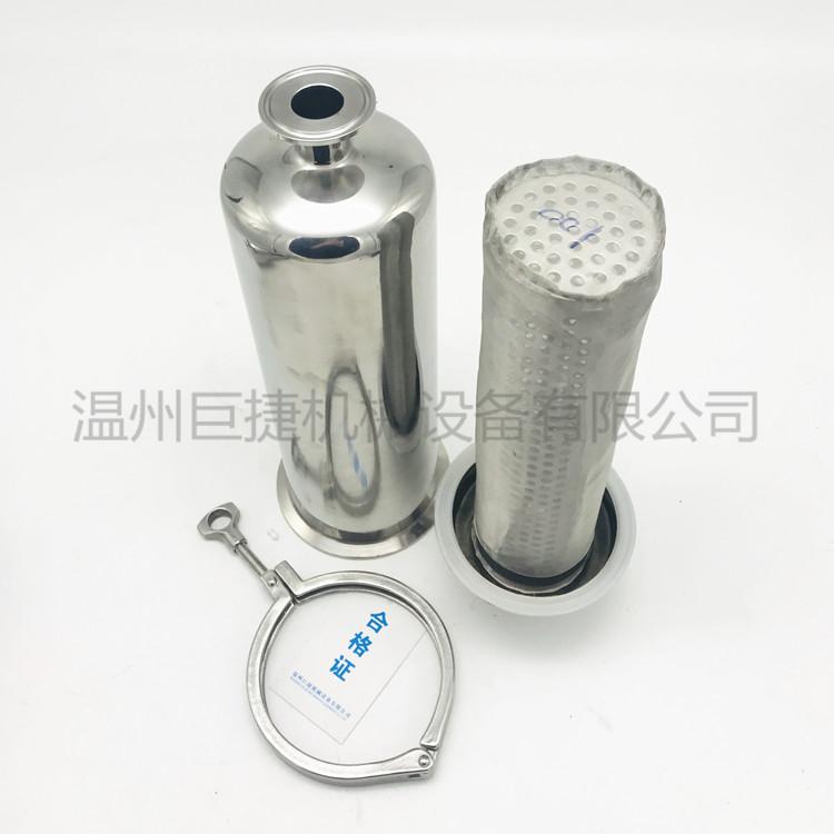 不锈钢滤网过滤器 管道直通过滤器 卫生级过滤器