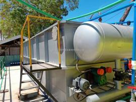专业屠宰养殖污水处理东流影院溶气气浮机出水达标-中科贝特现场考察