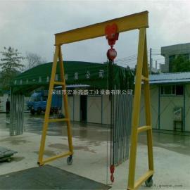 手推式简易龙门架 重型龙门架 可旋转式龙门架 可移动式龙门架
