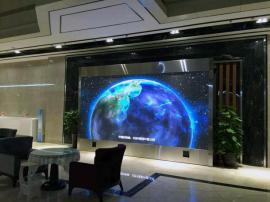 高等院校多媒体大教室p2.5LED全彩显示屏幕制作厂家