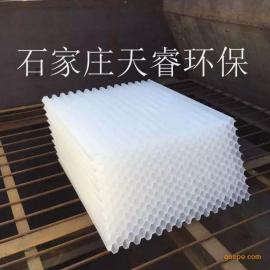 全塑乙丙共聚蜂窝斜管填料 处理效果稳定适应性强