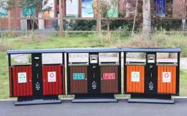 果皮箱加工厂-不锈钢垃圾桶-公园垃圾桶企业