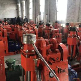源头专业生产坑道钻机wss注浆工艺专用zlj-350钻注一体机